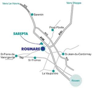 Carte Sarepta
