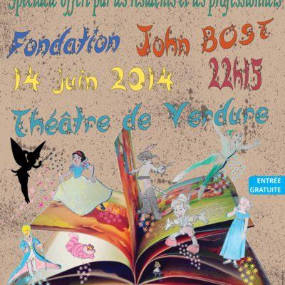 Affiche fête annuelle 2014 Fondation John BOST