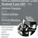 Affiche concert 9 juin 2017