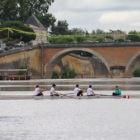 1er passage sur l'eau pour l'équipe mixte