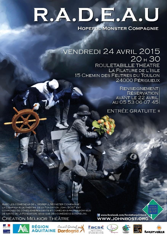 Affiche RADEAU_Périgueux_2015